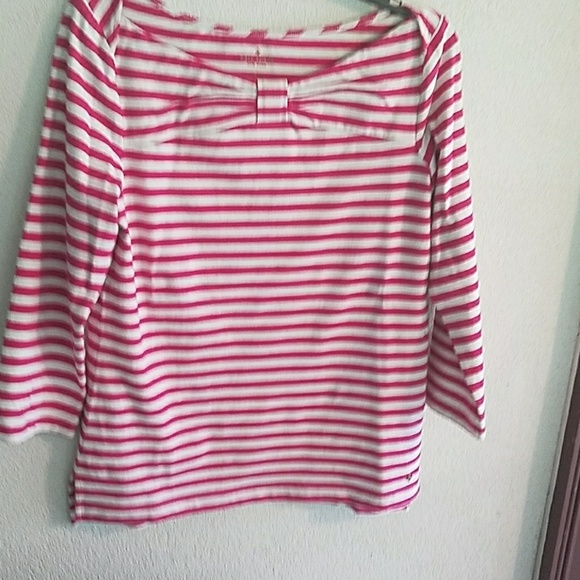 78 Off Kate Spade Tops Kate Spade Pink And White