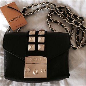 Valentino Studded Convert Black Bag
