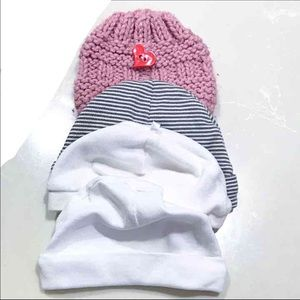 Newborn girls hats