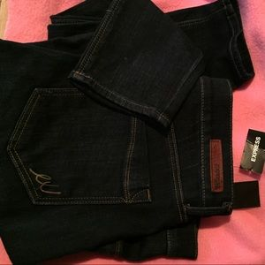 Express Jeans mid rise leggings