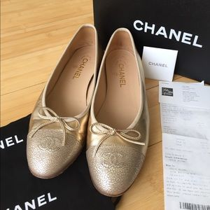 CHANEL Shoes - Authentic Chanel Ballerina Flats