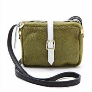 Clare Vivier Handbags - Clare Vivier: NWT Green Cross body Purse