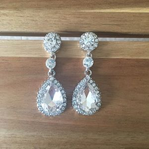 💜3 for $20💜Crystal chandelier earrings