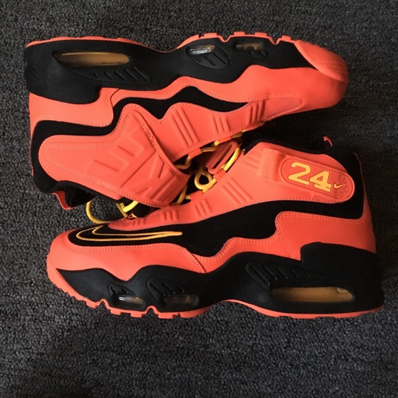 a294a08037 Nike Shoes | Red Black And Yellow Griffeys | Poshmark
