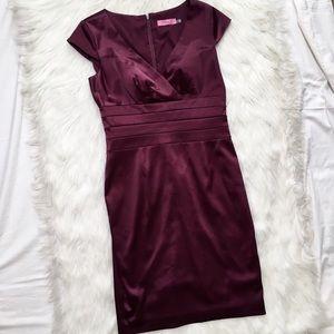 Eliza J Dresses & Skirts - Eliza J Eggplant Sheath Dress