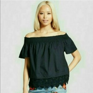 WHO WHAT WEAR Tops - nwt / bardot top