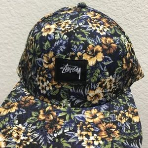 Floral Stussy SnapBack