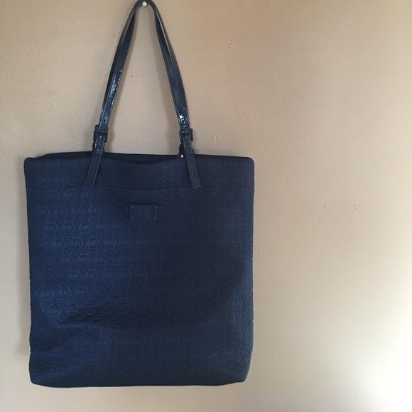 c16df920d7c9 Michael Kors Bags | Navy Neoprene Tote Bag | Poshmark