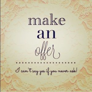 Make an offer....NOT FOR SALE!!!!