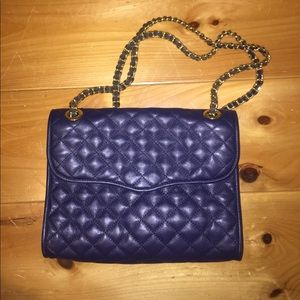 Navy Leather Rebecca Minkoff Bag