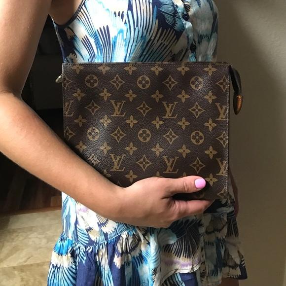 e2dd458fc9c Authentic Louis Vuitton Vintage Toiletry Pouch 26.  M_594f012a36d5941c8f026ed0. Other Bags ...