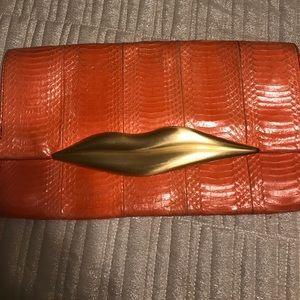Diane Von Furstenberg Handbags - Diane Von Furstenberg lip bag large!