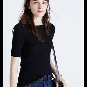 Madewell scoop- back tee