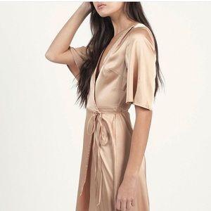 Modern Citizen Dresses & Skirts - Satin Blush Pink Modern Citizen Dress