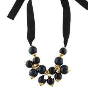Marni Jewelry - Marni Black ribbon Marni necklace