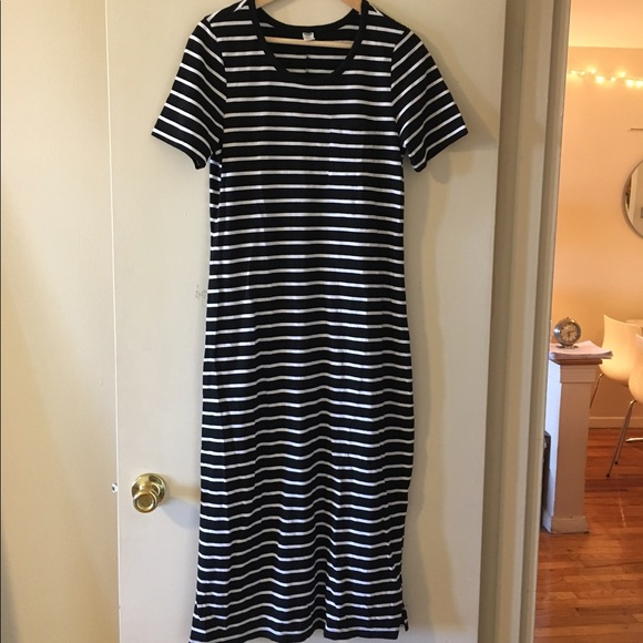 83 off old navy dresses skirts old navy striped t for Navy striped dress shirt