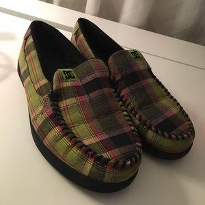DC Shoes - DC Slip on Women's Plaid Shoe