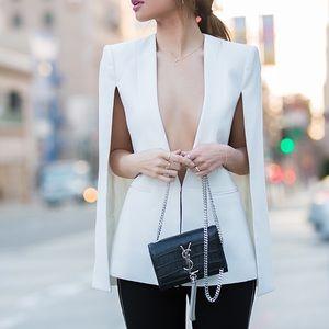"""BCBGMaxAzria Jackets & Blazers - BCBG MAX AZRIA • NWOT • """"Upas"""" cape blazer"""