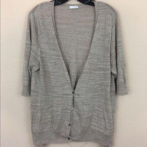 J. Jill Sweaters - Pure Jill light short sleeve sweater cardigan