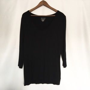 Lord & Taylor Tops - Lord & Taylor Black Shirt