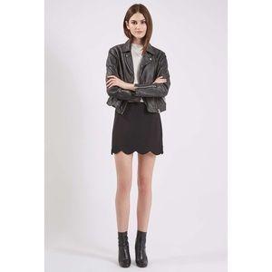 Topshop Dresses & Skirts - Topshop scallop skirt