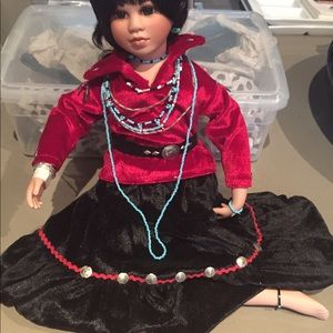 Other - NATIVE AMERICAN - COLLECTOR DOLL