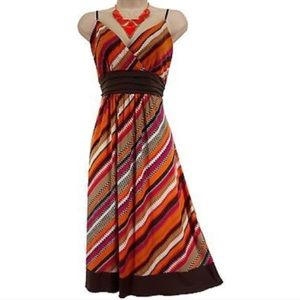 Dresses & Skirts - Slanted Stripes Empire Sundress summer