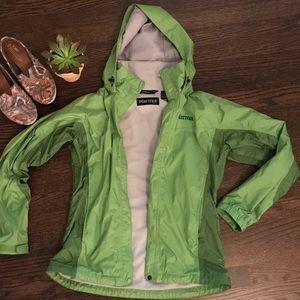 Marmot Jackets & Blazers - Marmot S Green Precip Jacket