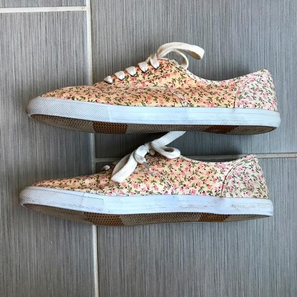 Target Floral Tennis Shoes