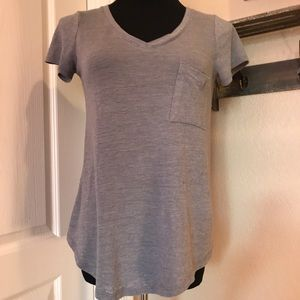 Mossimo Tops - 💕BUNDLE ONLY💕 Soft Grey V-Neck Tee