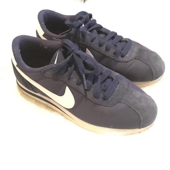 buy online 22521 3b44d Nike Cortez Nylon Navy 5.5 Youth