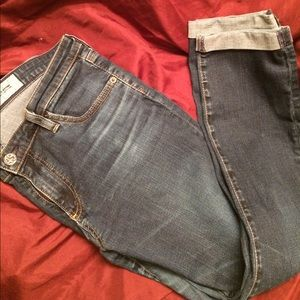 Ag Adriano Goldschmied Denim - AG THE STILE ROLL UP SZ31