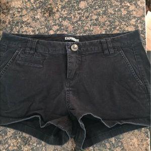 Black express shorts Sz 2