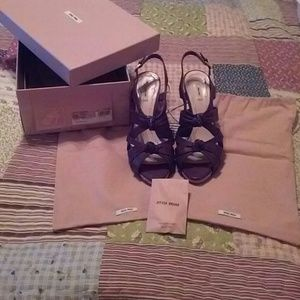 Miu Miu Shoes - Authetic Miu Miu Calzature Donna sandals in Cocco