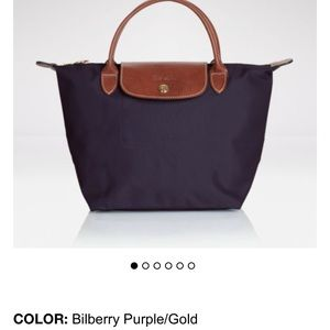 Longchamp Handbags - Longchamp. Le pliage small tote authentic purple.