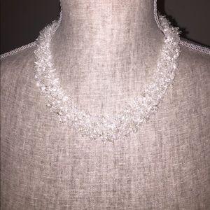 "Jewelry - 16"" quartz collar/choker necklace"