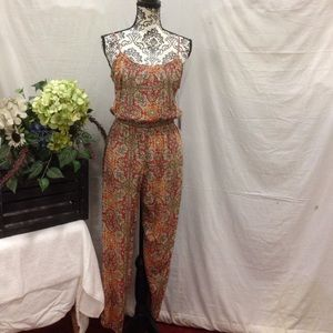 Pants - NWT Middle Eastern Vibe Jumpsuit