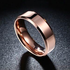 Jewelry - Sale!ShinyRoseGoldBandSize7Men's/Women's+Preorder!
