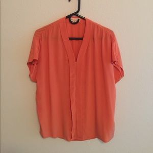Two by Vince Camuto Tops - Two by Vince Camuto Silk Shirt