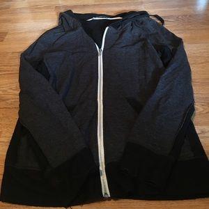 Abbot Main Tops - Two tone abbot main medium hoodie