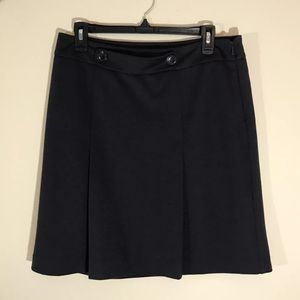 {Ann Taylor Factory} Solid Black Knit Skirt