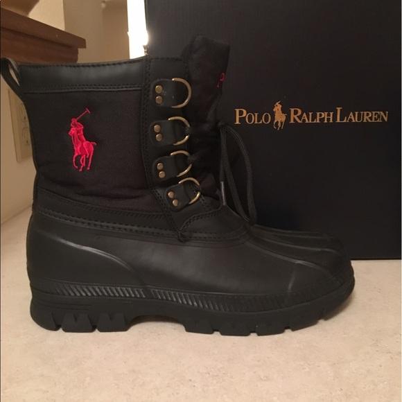 Mens Polo Ralph Lauren Winter Boots