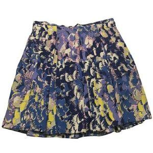 SALE! Anthropologie Tibi Silk Pleated Skirt
