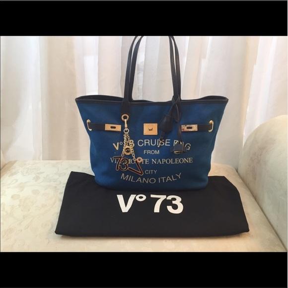 125194e9051 V73 Milano blue tote. M_594f1b4d3c6f9fe03b027374