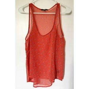 Papaya Tops - Papaya Floral Summer Tank Top