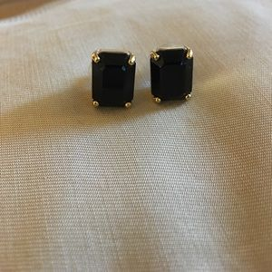 Kate Spade Black Jewel Earrings