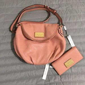 Marc Jacobs crossbody bag & wallet