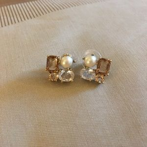 Kate Spade Pearl Cluster Earrings