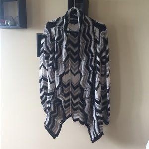 BCBG Sweaters - {BCBG} Funky cardigan
