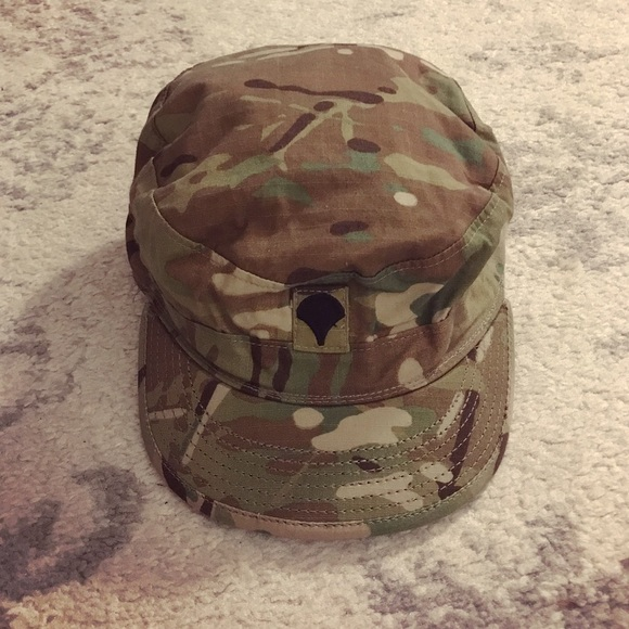 07765cb7 Authentic camo Army cadet / patrol cap